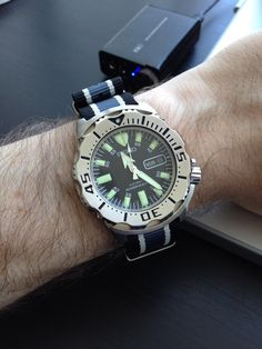 Why I would never buy a Seiko Monster