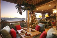 Image result for patio christmas decorating ideas