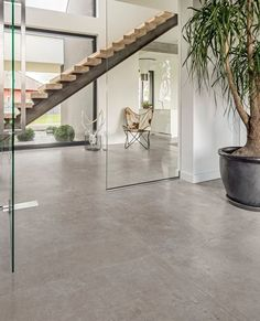 Calma is a stunning new concrete-effect porcelain tile from our Italian Collection of porcelain tiles. Decor Interior Design, Interior Decorating, Living Room Flooring, Wall And Floor Tiles, Living Room Grey, Great Rooms, Interior Architecture, Concrete, House Design