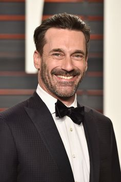 Pin for Later: See How the Stars Turned Up at Vanity Fair's Oscars Afterparty!  Pictured: Jon Hamm