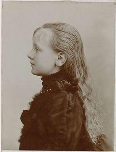 Portret van de jonge koningin Wilhelmina, Adolphe Zimmermans, 1891