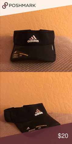 ADIDAS VISOR NEW black and white adidas visor Adidas Accessories Hats