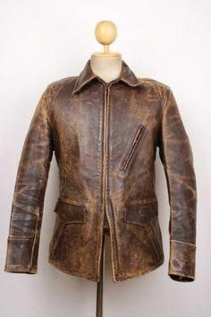 WINDWARD HORSEHIDE Leather Jacket