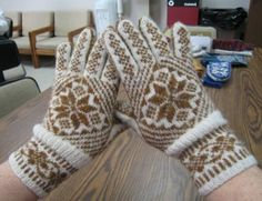 Ravelry: Traditional Allover pattern by Carol Rasmussen Noble