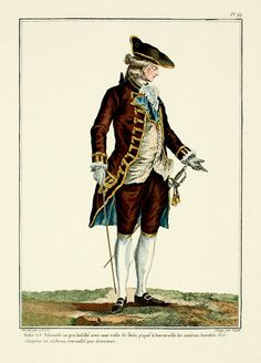 1778 French Fashion Plate