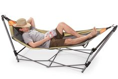 Aottop Hammock for Camping - Single Hammocks - Top Rated Best Quality Gear For The Outdoors Backpacking Survival or Travel - Portable Lightweight Parachute Nylon Camping Cot, Camping Chairs, Camping Gear, Outdoor Camping, Camping Hammock, Camping Trailers, Camping Gifts, Camping Stuff, Outdoor Travel