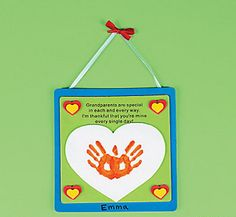 Great Grandparents Day Gift Ideas for Kids to Craft is a fun activity for the kids. These great Grandparents Day Crafts for Kids will put a smile on any grandparent's face! Daycare Crafts, Classroom Crafts, Baby Crafts, Toddler Crafts, Preschool Activities, Crafts For Kids, Children Crafts, Classroom Ideas, Fall Preschool