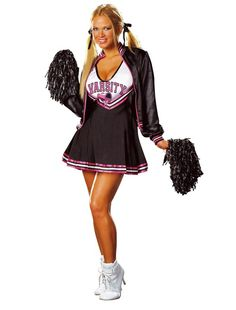 Déguisement de pom pom girl / Cheerleader costume