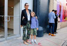 Jenna Lyons #StreetStyle  #NYC