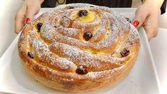 Great Desserts, Köstliche Desserts, Delicious Desserts, Dessert Recipes, Bread And Pastries, Italian Pastries, Croation Recipes, Tolle Desserts, Bread Cake