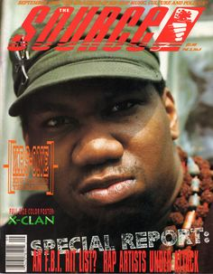 The Source (September 1990) featuring KRS-One - Remember when The Source was on point??