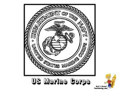 coloring buddy mike recommends us marine corps flag coloring page at yescoloring