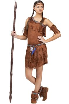 Girls? has lots of indian stuff. men alsoPow Wow! Teen Costume for Halloween - Pure Costumes