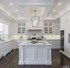 46 Creative White Kitchen Design And Decor Ideas. 46 Creative White Kitchen Design And Decor Ideas. Today the most popular type of home improvement homeowners are wanting and doing is kitchen remodeling. Home Decor Kitchen, Diy Kitchen, Home Kitchens, Kitchen Ideas, Kitchen Backsplash, Dream Kitchens, Kitchen Inspiration, 1960s Kitchen, White Kitchen Decor