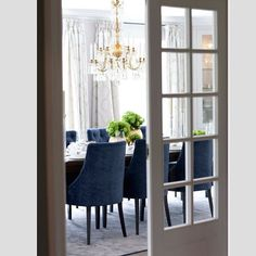 Dining room in perfect grey and blue... Villa project... #bycollinedesign #diningroom #classic #chandelier #homerenovation #interiordesign #collinedesign