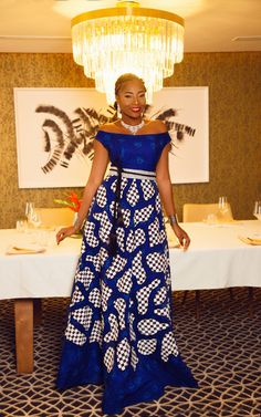 Beautiful Long Ankara Gowns that is in Vogue this remaining part of 2018 African Print Dresses, African Print Fashion, Africa Fashion, African Fashion Dresses, African Prints, Ankara Fashion, African Attire, African Wear, African Women