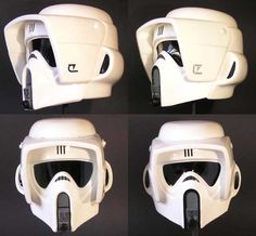 Helmet side by side for different models on the market
