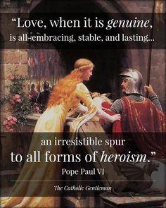 Pope Paul VI quote.
