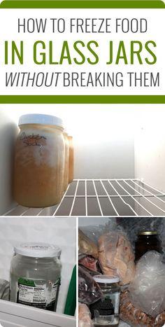 How to freeze food i