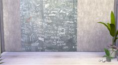 My little The Sims 3 World: Blackboard Walls for TS 4