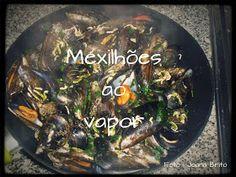 #Mexilhões ao vapor