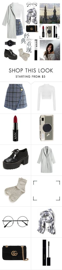 """#blackpink #jennie #kpop"" by antipinaoxana ❤ liked on Polyvore featuring Chicwish, WearAll, NYX, Kate Spade, Alice + Olivia, C.O. Bigelow, Hedi Slimane and Gucci"