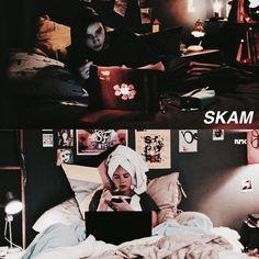 SKAM vs. SKAM France. Eva vs. Emma.