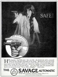 Savage Automatic Pistols -1913A