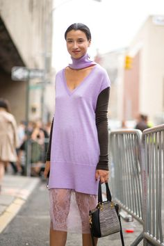 Spring Street Style Fashion Inspiration - Printemps style Inspiration via Street Style