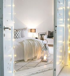 """My first choise for """"Best of the week"""" at is such a lovely bedroom! Furniture, Home Decor Inspiration, House Design, Interior, White Cottage, Closet Bedroom, House Styles, Home Decor, Bedroom"""
