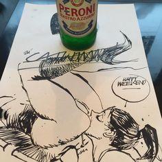 """Don't fuck around and enjoy your weekend ladies and gentlemen ! #beer3a"""