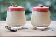 mandlova panna cotta1 Raw Food Recipes, Panna Cotta, Pudding, Ethnic Recipes, Dulce De Leche, Raw Recipes, Custard Pudding, Puddings, Avocado Pudding