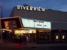 Riverview Theater - cheap movies in a 50's-era theater. In a neighborhood of supposedly great restaurants and shops. Might be an option if we want to wander, grab dinner, and chill with a movie...
