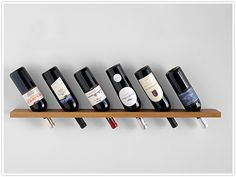wine storage... if we can keep from drinking it long enough to hang this up