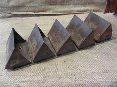 Vintage Conveyor Belt with Metal Buckets > Antique Old Decor Basket Box 8454  - $189 + $40 shipping