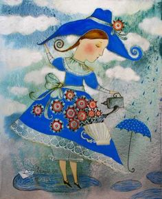 Ilustraciones de Anna Silivonchik