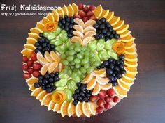 Fruit Display Ideas | fruit+kaleidoscope+fruit+plate+for+wedding+chocolate+fontain ...