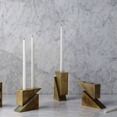 Apparatus candle holders
