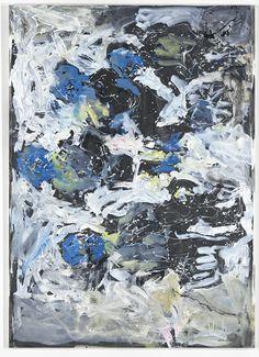 Georg Baselitz Schlechte Note 2012 Oil on canvas 290 x 208 cm (114.17 x 81.89 in)