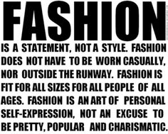 For Fashion Freaks: FAMOUS FASHION QUOTES