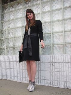 look Do Dia Vestido Preto # Black dress
