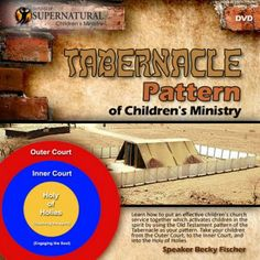 Tabernacle Pattern of Children's Ministry- front cover copy