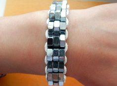 Steel Nut Bracelet