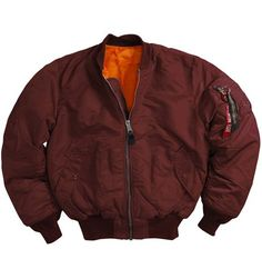 classic MA-1 Alpha Industries flight jacket. look deep into BOTH pockets to ensure you get a Made In USA original tag!! otherwise you're paying the same amount for a Chinese copy. how un-American!!