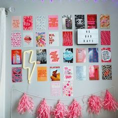 Radiate Positivity Wall Photo Collage   Etsy