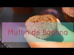 Muffin de banana - Gabriela Pugliesi