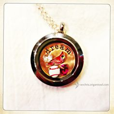 St. Louis Cardinals Baseball – Dream. One of my Origami Owl client creations! -- Need to find this, too cute!