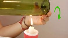 How to Cut Wine Bottles for Crafts. A great way to recycle old wine bottles is to use them for home decorations. Old Wine Bottles, Wine Bottle Art, Bottle Candles, Diy Bottle, Recycled Bottles, Wine Bottle Crafts, Beer Bottle Glasses, Cutting Glass Bottles, Birch Bark Crafts