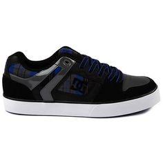 DC Shoes Men's Maze XE Shoes Black Royal Battleship  Skateboarding Sz 8 New/Box #DCShoes #Skateboarding
