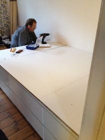 Mobile Home Porch, Ikea Malm, Diy Sofa, Murphy Bed, Small Living, Room Inspiration, Bedroom, Storage, Ikea Hacks